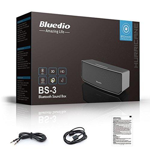 [amazon.de] Bluedio BS-3 Bluetooth Lautsprecher – 8€ Rabattcode [Prime]