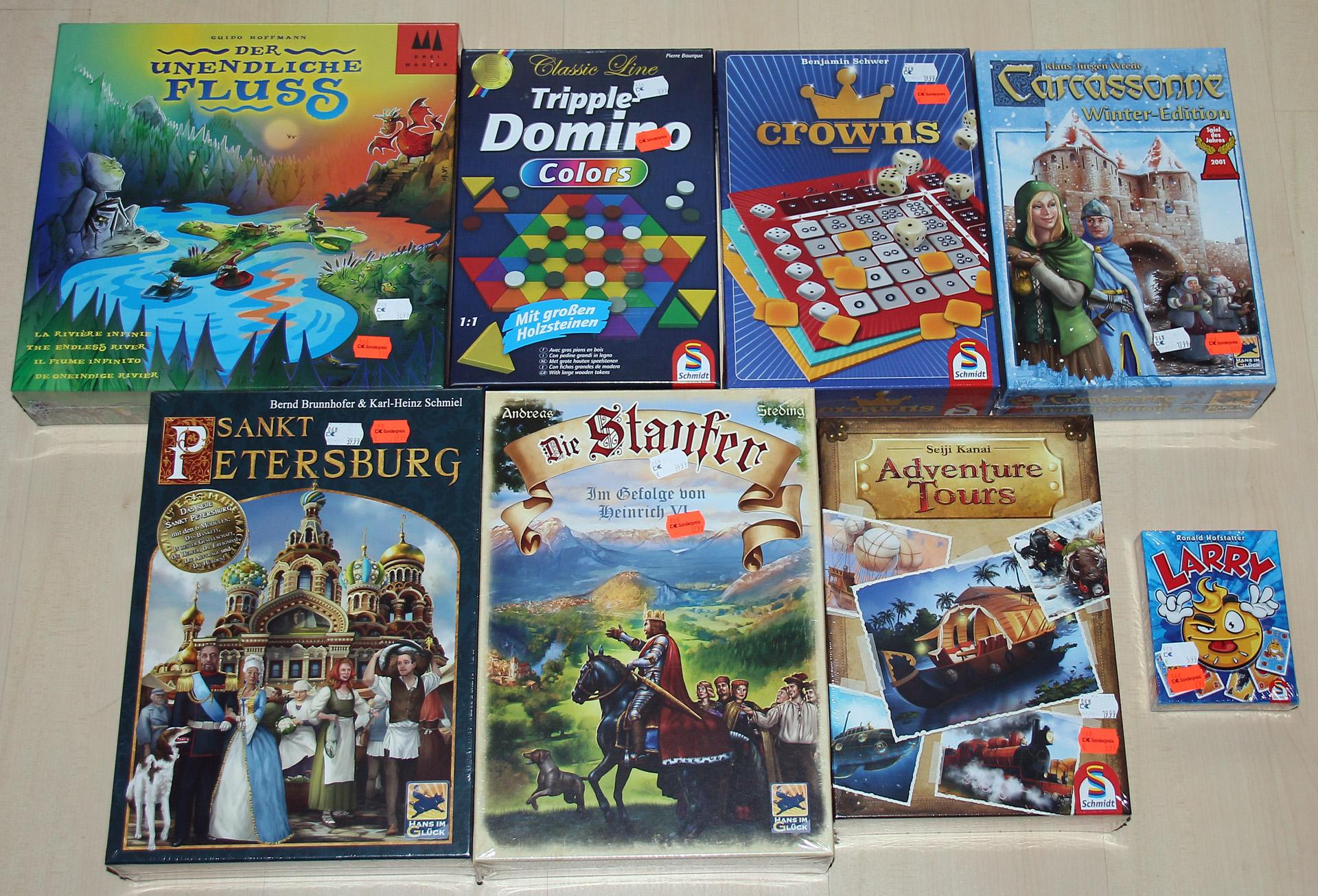 [Lokal Mülheim - Karstadt Rhein Ruhr Zentrum] Schmidt Spiele Adventure Tours + weitere Gesellschaftsspiele