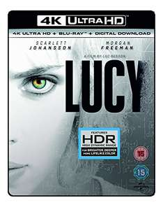 (Amazon.co.uk) Lucy (4K UHD Blu-ray + Blu-ray + UV Copy) für 18,87