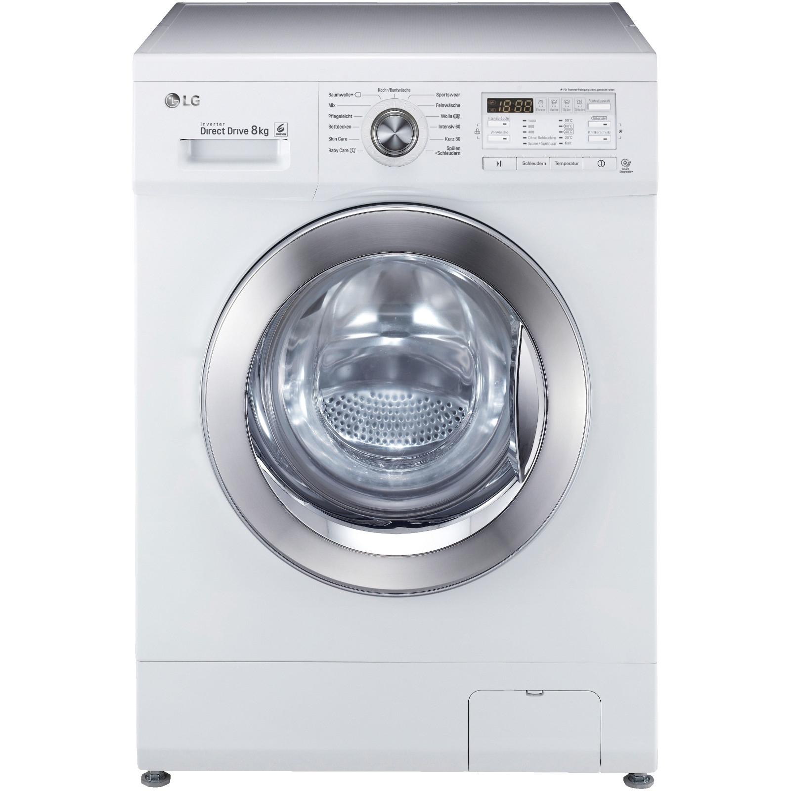 LG F 14 B 8 Chrom – 8kg Waschmaschine