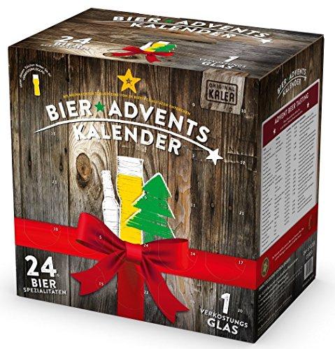 ( wieder verfügbar) Amazon: KALEA Bier Adventskalender mit 24 Bieren+ Verkostungsglas für 23,89 statt 53,89
