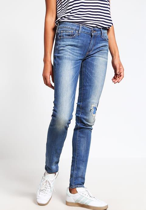 Levi's 711 SKINNY - Jeans Slim Fit - beloved indigo in Gr. 23x32 und 24x32