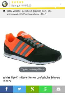 [outlet46] Adidas Neo City Racer für 34,99€