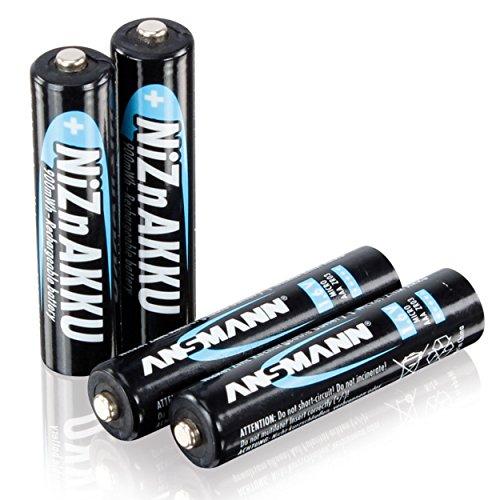 [Amazon Prime] ANSMANN AAA Akku Nickel-Zink (NiZn) 900mWh/1,6V - 4 Stk.