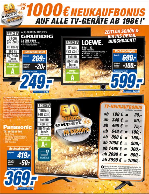 [Lokal Rastatt] UE65KS9590 für 2999€, TX-58DXW804 für 1699€ u.A TVs