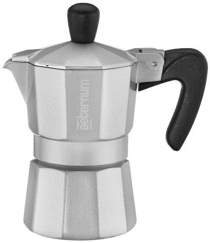 Amazon Prime Aeternum 4521 Allegra Espressokocher für 1 Tasse, silber