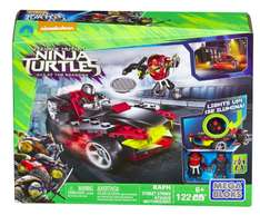 Mega Bloks Teenage Mutant Ninja Turtles Raphs Straßen Fight für 15€ bei Abholung @[real]