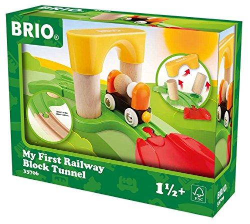 Brio 33706 Mein erster Steck Tunnel für 6,57€ mit [Amazon Prime] + gelber Kipplaster 30373 für 7,33€