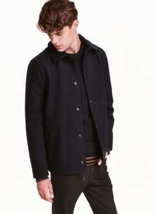 Noch bis heute bis zu 60% Rabatt auf klassische Essentials der aktuellen Kollektion bei H&M, z.B. Jacke aus Wollmix für 24,99€ statt 69,99€
