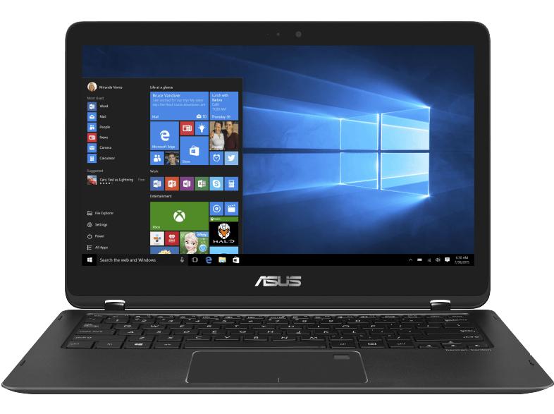 Asus Zenbook Flip UX360UAK Convertible (13,3'' FHD IPS Touch, i5-7200U, 8GB RAM, 256GB SSD M.2 NVMe, USB Typ-C, Wlan ac, 1,3kg, 12h Laufzeit, bel. Tastatur, Win 10) für 829€ [Mediamarkt]