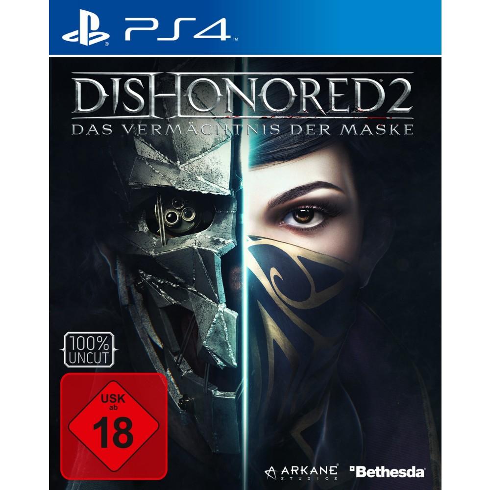 (Lokal Müller) Dishonored II – Das Vermächtnis der Maske (PS4) für 24,99€