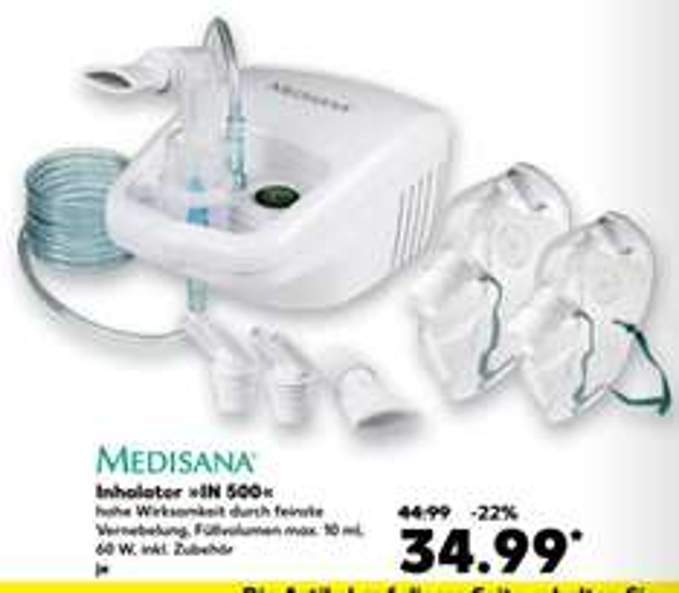 Medisana Inhalator IN 500 @Kaufland