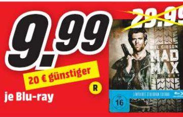 [Lokal Mediamarkt Regensburg/Neutrauling] Mad Max Trilogie (Exklusive Steelbook Edition) - (Blu-ray) für 9,99€