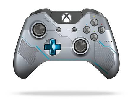 [e-joker / AYN] Microsoft Xbox One Wireless Controller, Spartan Locke Limited Edition, drahtlos, für Microsoft Xbox One, Refurbished