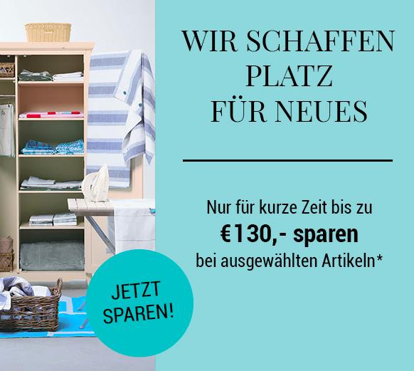 Butlers schafft Platz für Neues: 15% Rabatt auf ausgewählte Möbel & Wohnaccessoires