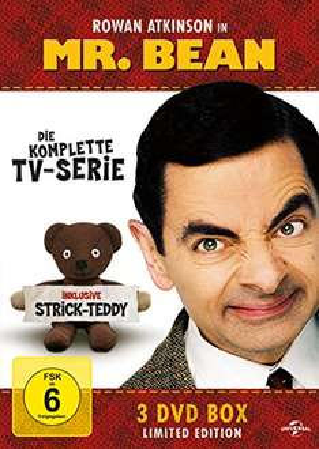 [Amazon Prime] Mr. Bean - Die komplette TV-Serie [3 DVDs] für 8,88€ / die Version mit Strick-Teddy für 11,97€