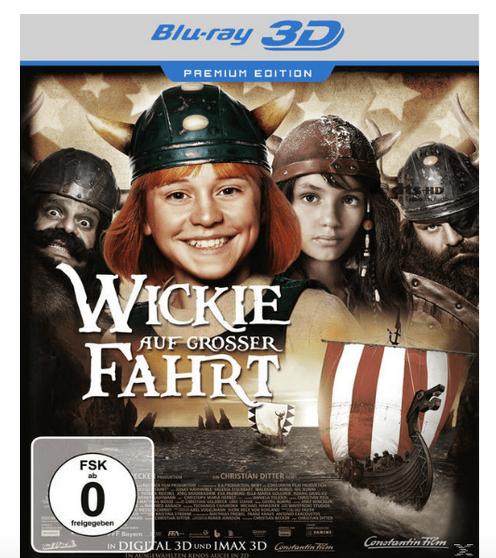 (Media Markt) Wickie auf grosser Fahrt (Blu-ray 3D + DVD) Premium Edition für 4€