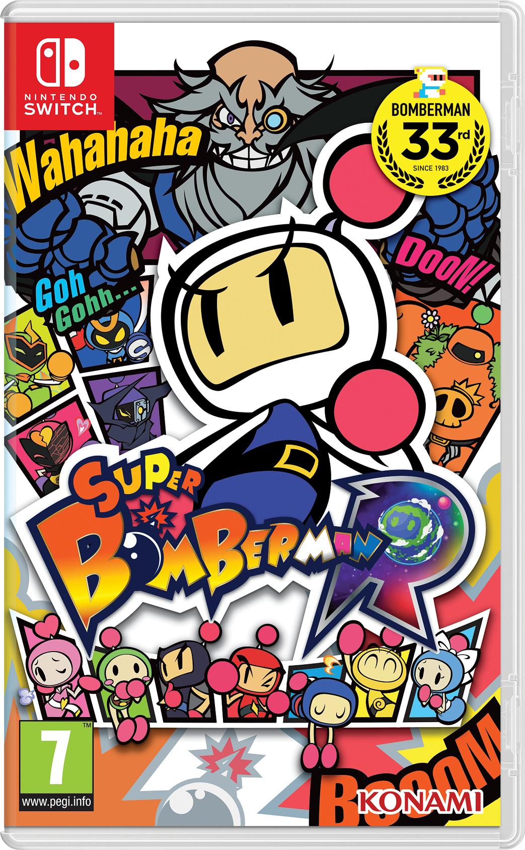 Super Bomberman R (Nintendo Switch) für 44,95€ inkl. VSK vorbestellen (Coolshop)