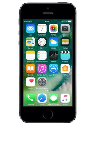 Apple iPhone 5s 16GB spacegrau + Allnet L für mtl. 19,99€