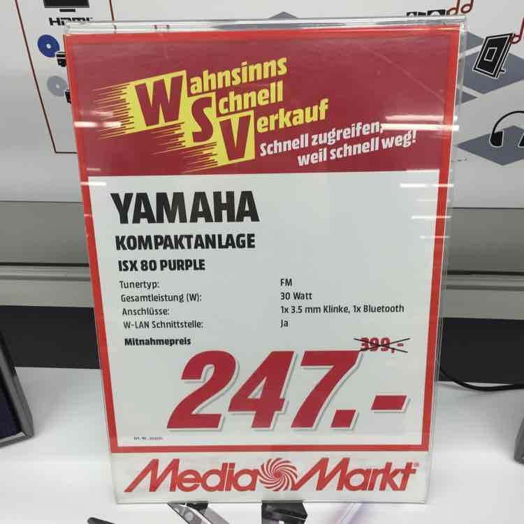 [Lokal MM Hannover] Yamaha ISX-80 Musiccast für 247€