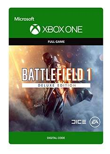 [Amazon.co.uk] Battlefield 1 Deluxe Edition [Download Code] (Xbox One) für 23,55€ statt 58,99€