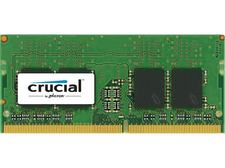 Crucial 8GB SODIMM DDR4 2133 MT/s für 32,99€