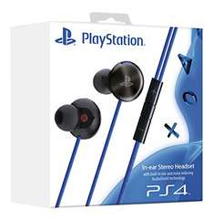 PlayStation 4 In-Ear Stereo Headset, schwarz (Lokal Media Markt Osnabrück)