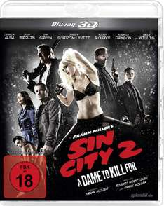 (Amazon) Sin City 2 - A Dame to kill for [3D Blu-ray] für 6,79€