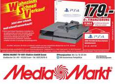 [Lokal] MediaMarkt in Essen PS4 500GB REFURBISHED