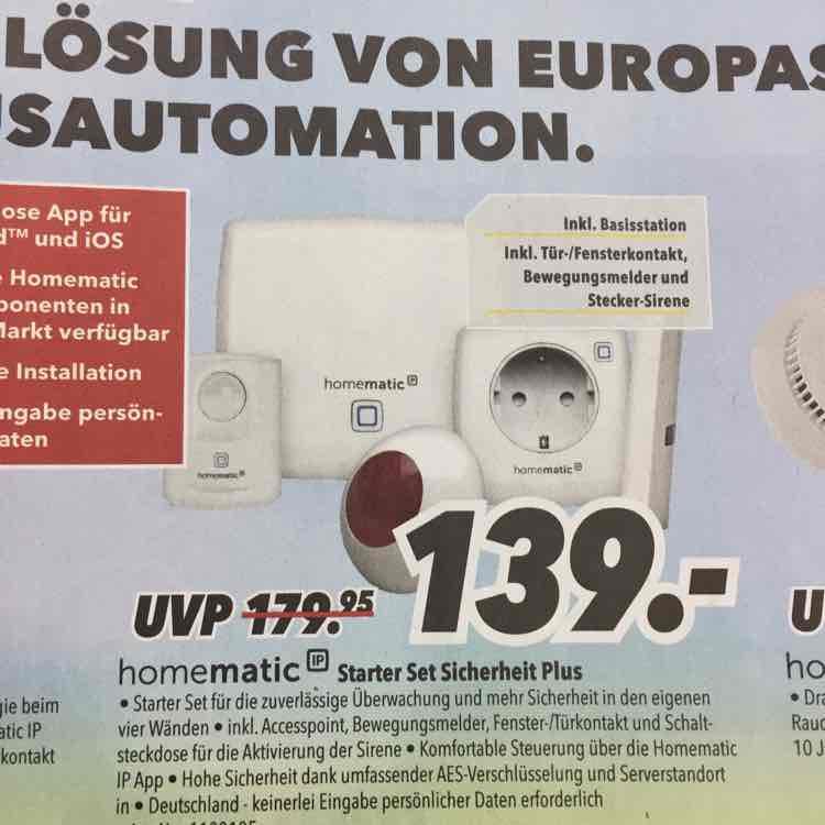 homematic IP//Starter Set Sicherheit Plus