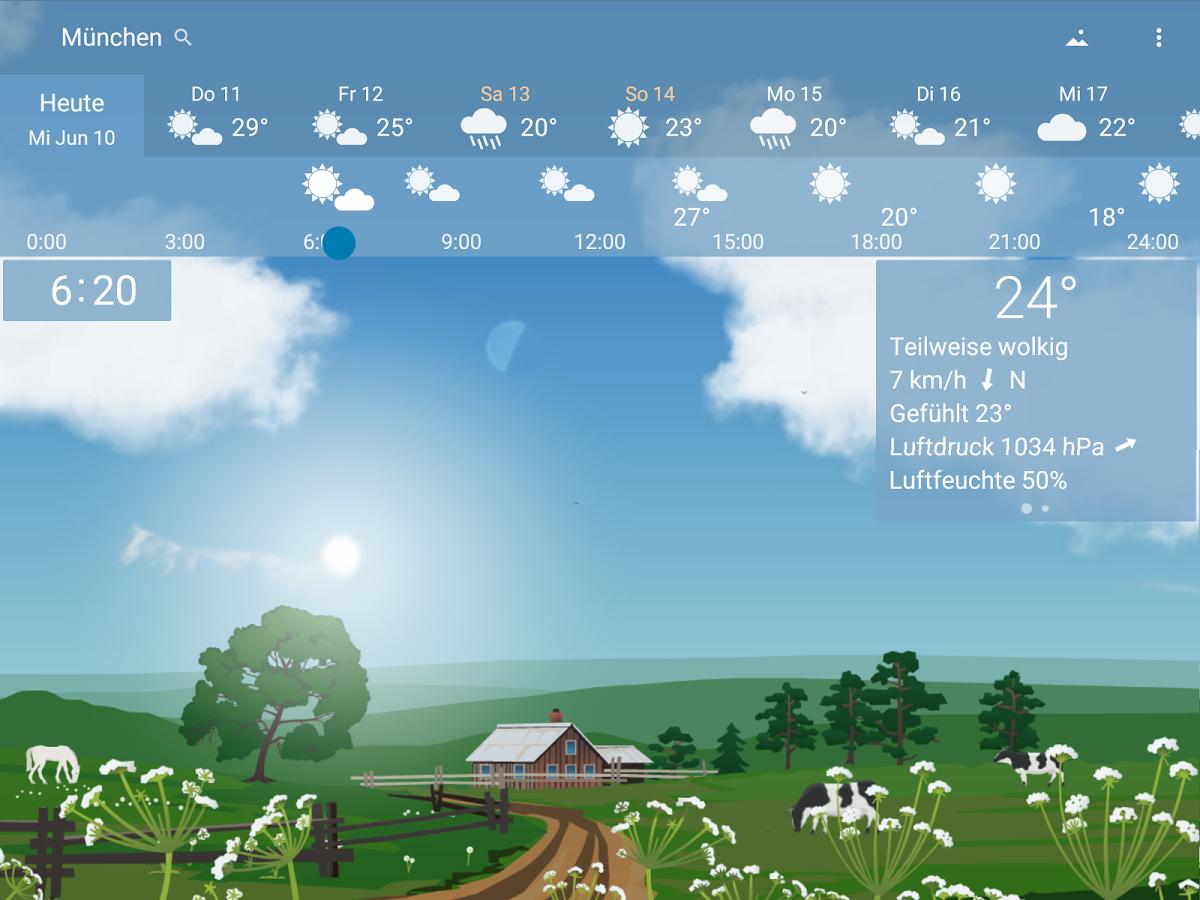 [Android] YoWindow Wettervorhersage