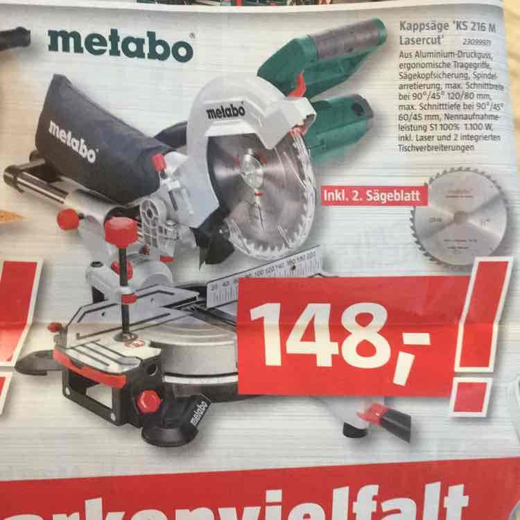 Metabo KGS 216M (lokal Fuldabrück)