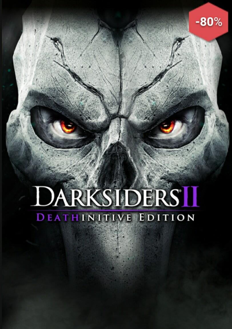 Darksiders 2 [PC] DeathInitive Edition (incl. allen Add Ons) SteamKey für 6€ oder auch Darksiders Franchise Pack (beide überarbeitete Teile + Soundtrack für 10€)