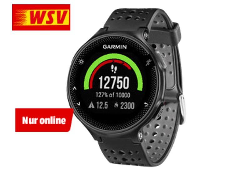 GARMIN Forerunner 235 WHR, GPS Smartwatch [Mediamarkt]