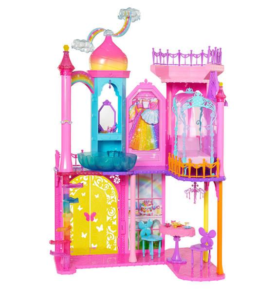 Barbie Regenbogen Schloss für 63,99€ bei [GALERIA Kaufhof]