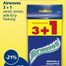 [real] Airwaves 3+1 für 1,49€