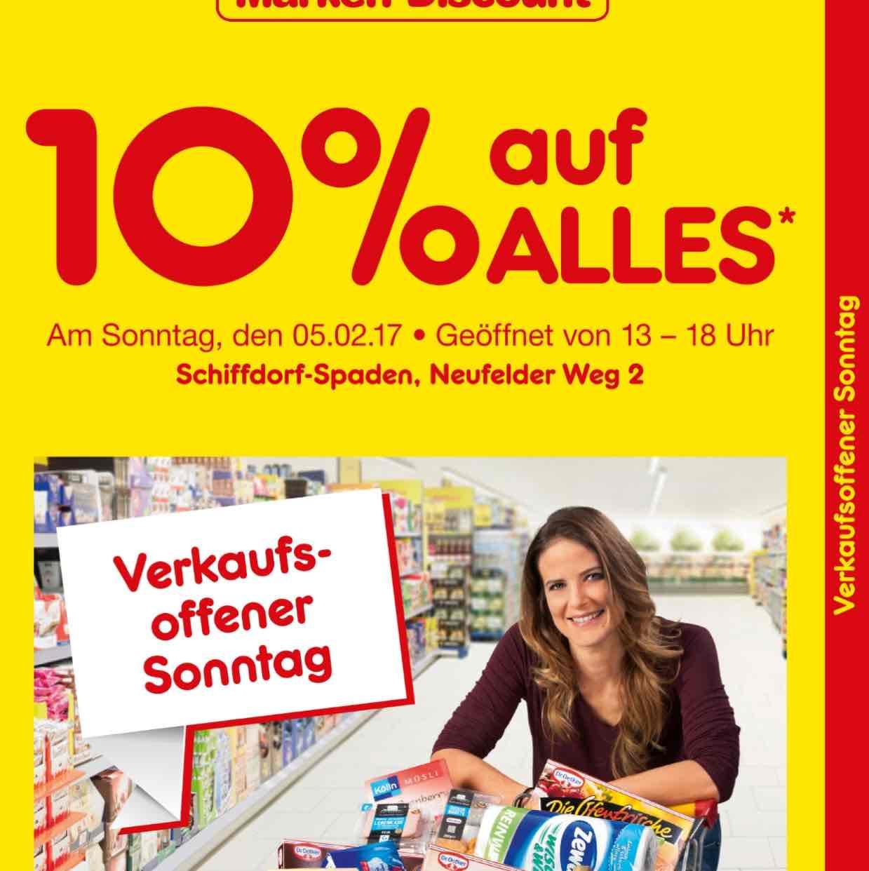 (NettoMD Schiffdorf-Spaden) 10% auf alles beim verkaufsoffenen Sonntag