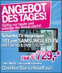 Samsung UE40C6200 (40 Zoll) LED-TV (Full-HD, 100Hz, DVB-T/-C/-S2) EUR 706,92 .- inkl. VK