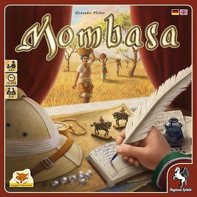 Mombasa - Brettspiel (BOL.de Buch.de)