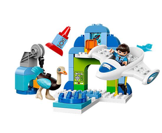 Lego Duplo Restposten reduziert im Lego Shop, z. B. Miles Stellosphere-Raumschiff für 17,49 (+3,50 VSK), PVG: 34,95