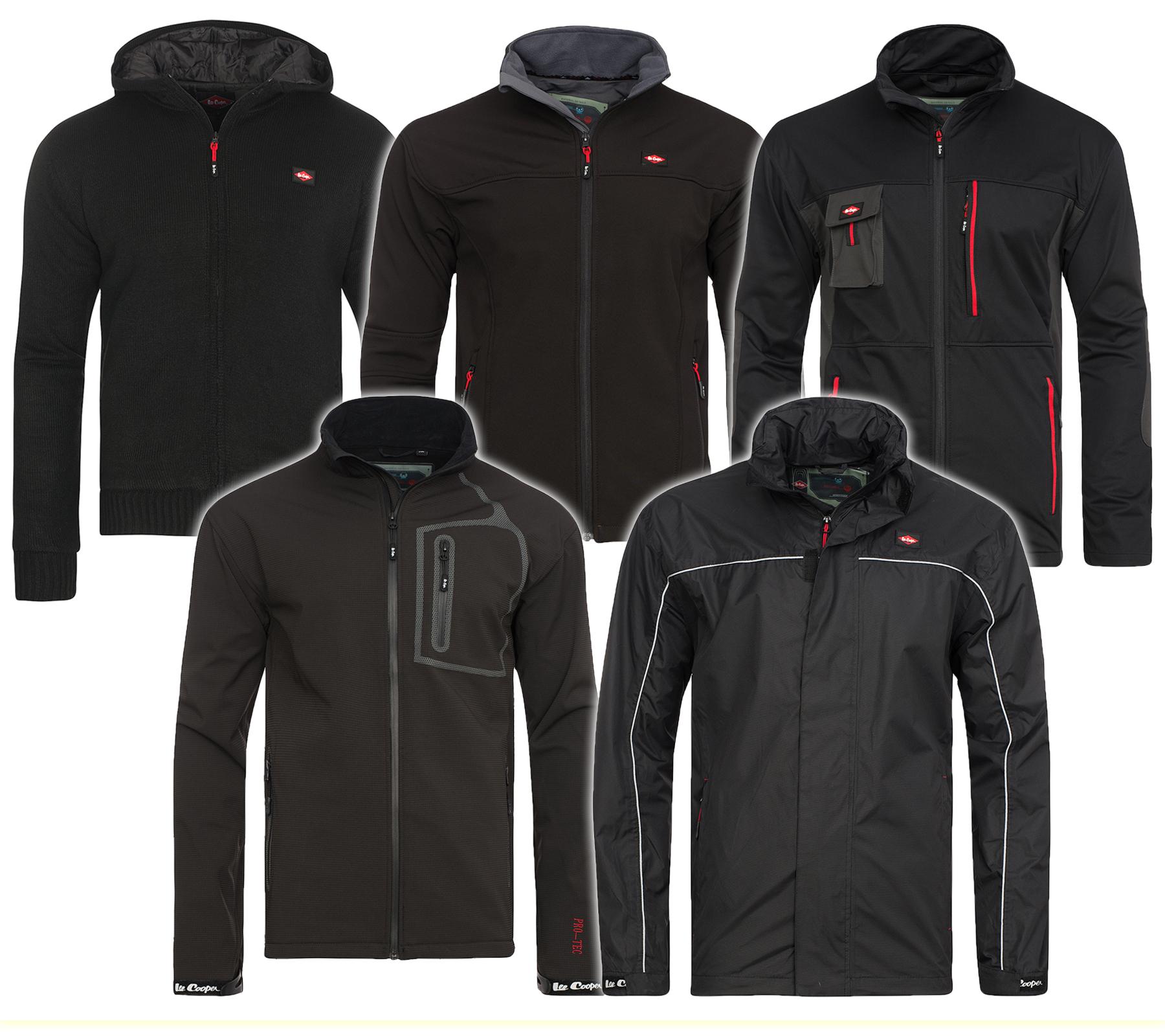 Lee Cooper Performance Workwear Herren-Softshelljacken in 5 Modellen @outlet46
