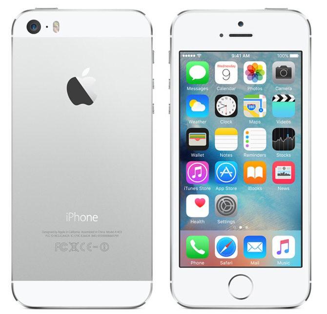 Iphone 5s 16GB refurbished 189,95€ in 3 Farben