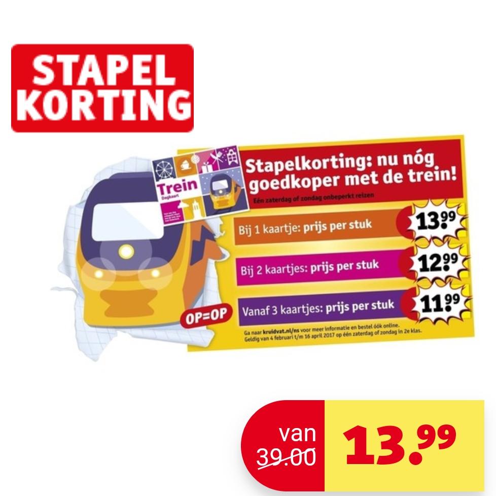 Niederlande: Zugtageskarte bereits für 13,99€ (nur gültig am Wochenende)