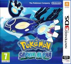 Pokemon Alpha Saphir (3DS) für 26,45€ [Amazon.fr]