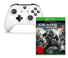 (Amazon) Gears of War 4 + Xbox Wireless Controller Weiß für 74,99€