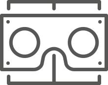 Kostenlose VR Brille aus Pappe
