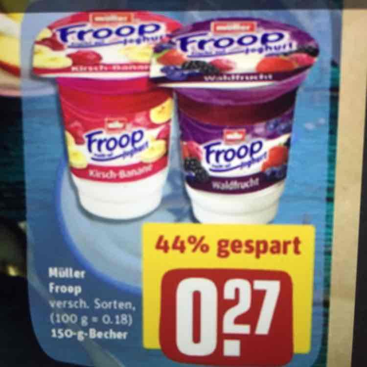 [REWE bundesweit] Müller FROOP 0,27€