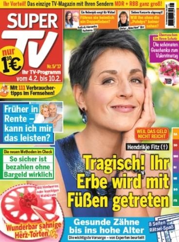 [MAGCLUB] Super TV - 14 Ausgaben für 11,40€ + 10€ Geldprämie + 5€ ShoppingBon (inkl. Amazon) (eff. 3,60€ Gewinn)