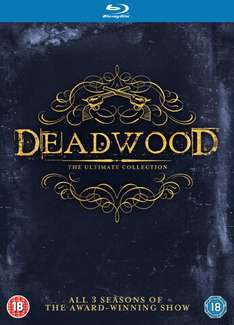 Deadwood - Complete Collection Staffel 1-3 (Bluray) (dt. Tonspur) ab 12,53€ [Zavvi]