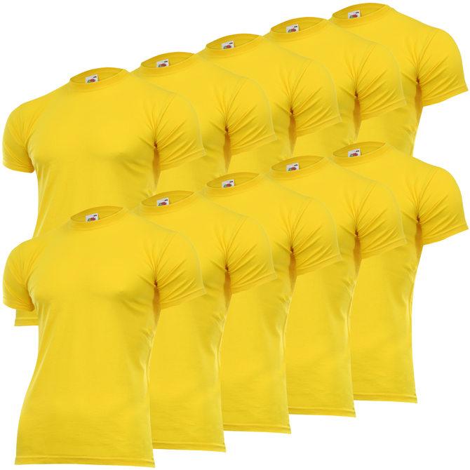 [ebay] 10x FRUIT OF THE LOOM T-Shirts Set versch. Farben inkl. Versand